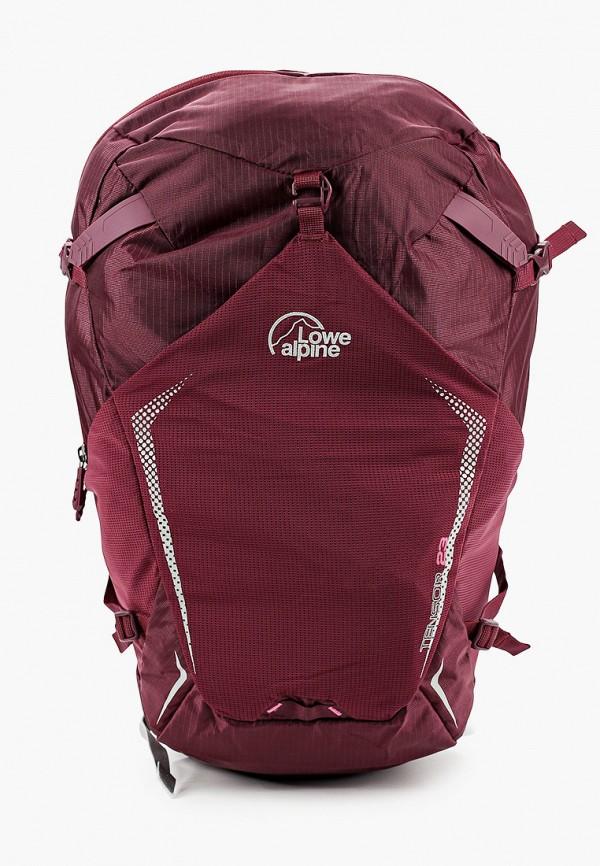женский рюкзак lowe alpine, бордовый