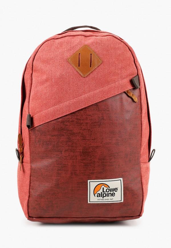 женский рюкзак lowe alpine, красный