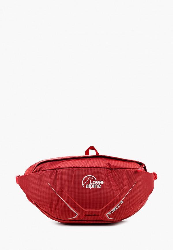 женская сумка lowe alpine, бордовая