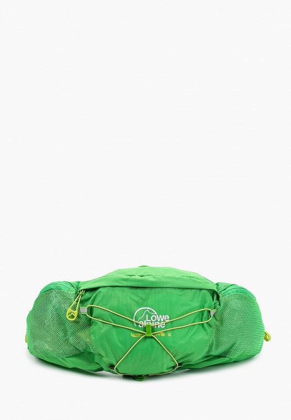 женская сумка lowe alpine, зеленая