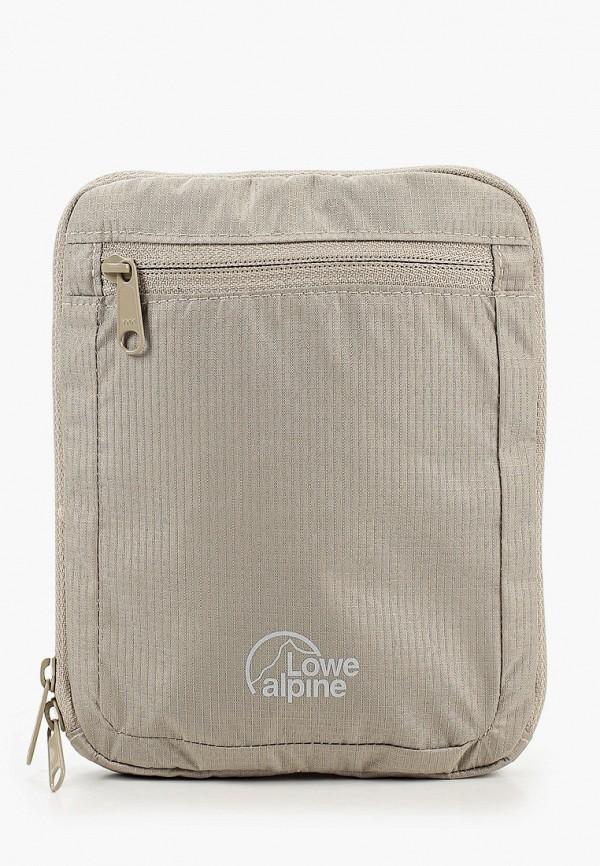 женская сумка lowe alpine, бежевая
