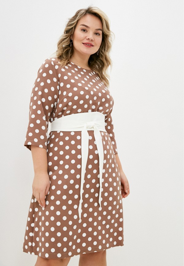женское повседневные платье lorabomb, бежевое