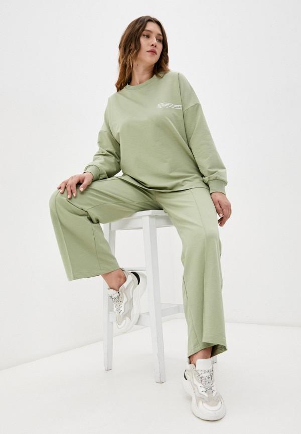 женский спортивный костюм lorabomb, зеленый