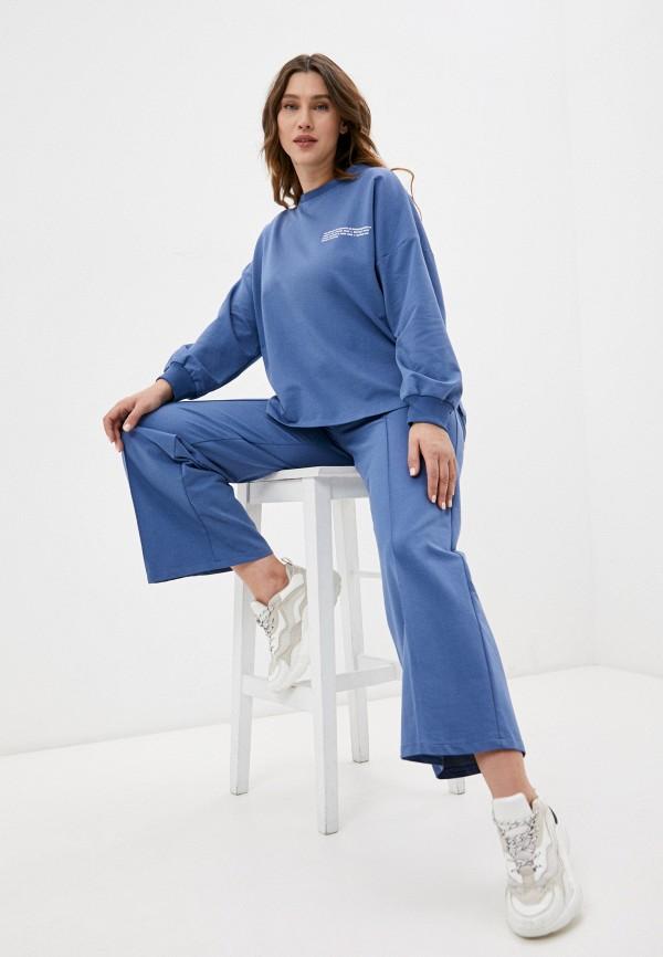 женский спортивный костюм lorabomb, голубой