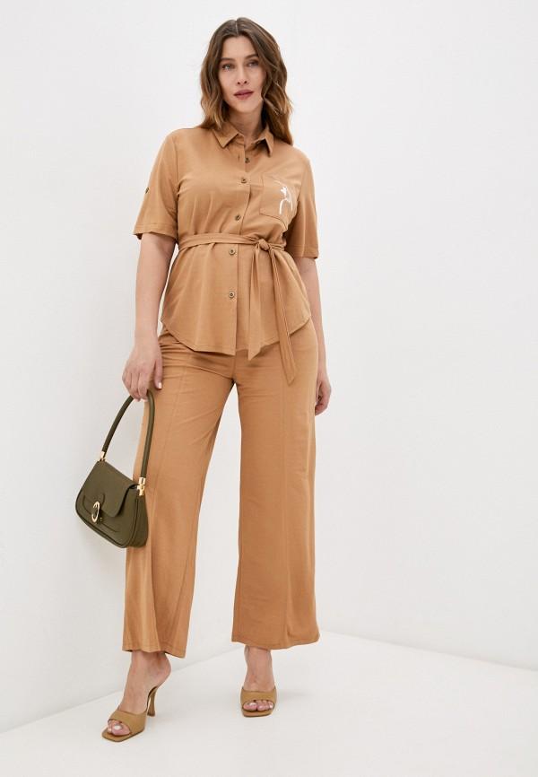 женский костюм lorabomb, коричневый