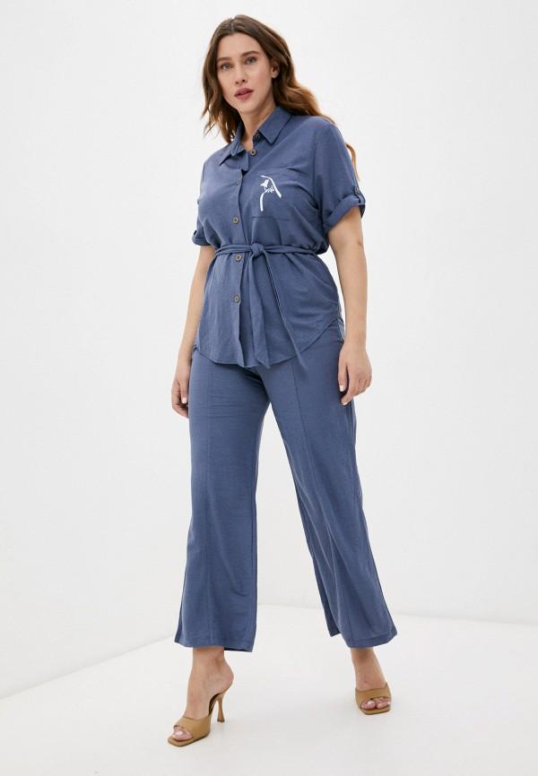женский костюм lorabomb, синий