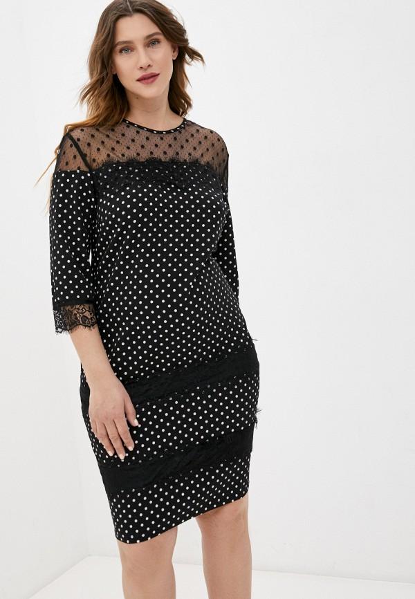 женское вечерние платье lorabomb, черное