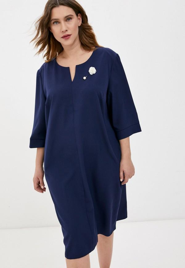 женское повседневные платье lorabomb, синее