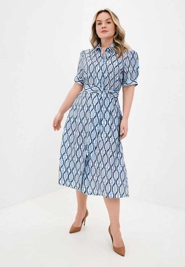 женское платье lorabomb, голубое