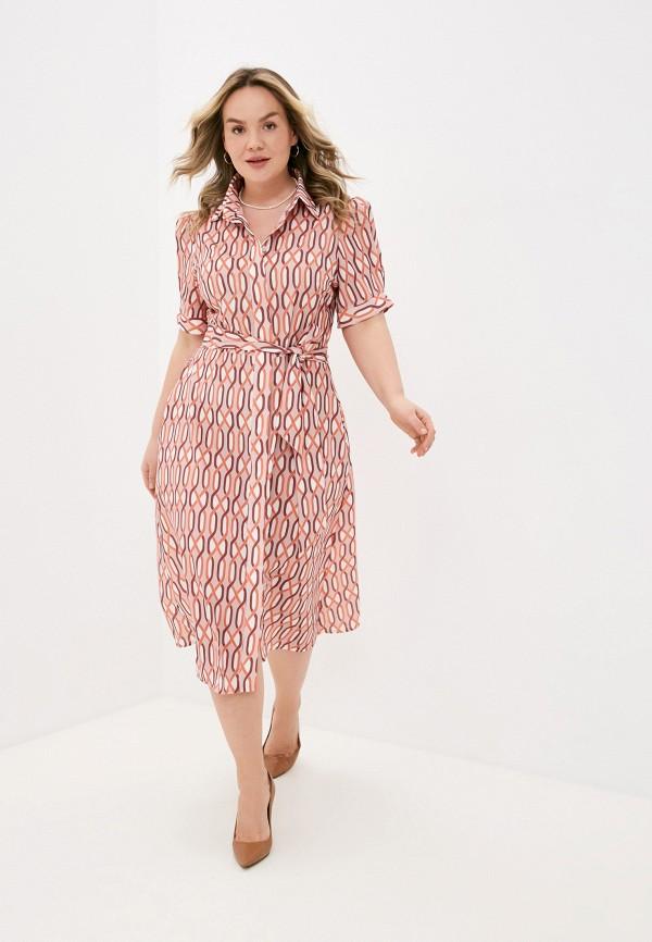 женское платье lorabomb, розовое