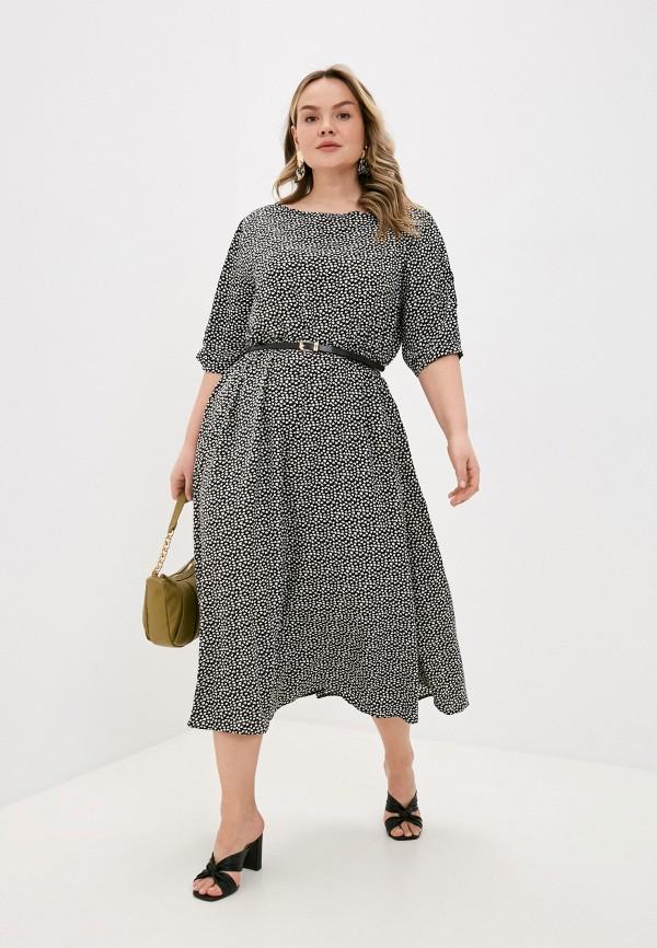 женское повседневные платье lorabomb, черное