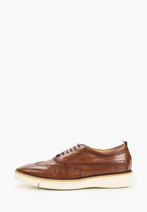 мужские туфли-дерби loriblu, коричневые
