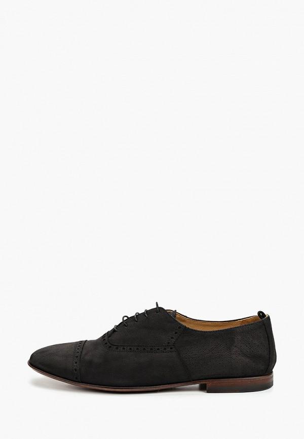 мужские туфли-оксфорды loriblu, черные