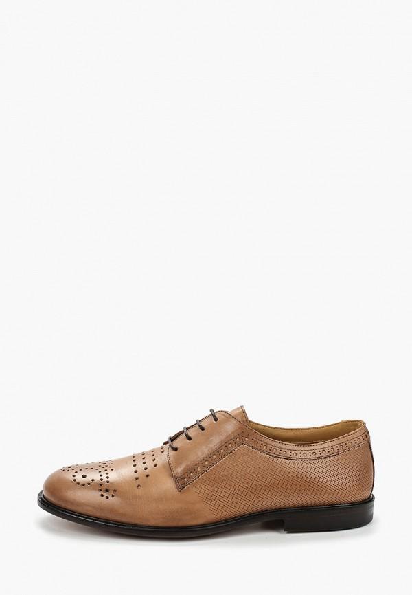 мужские туфли-дерби loriblu, бежевые