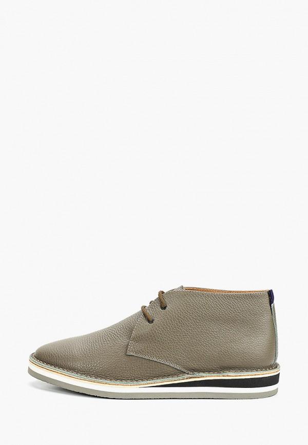 мужские низкие ботинки loriblu, бежевые