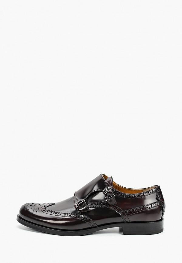 мужские туфли loriblu, бордовые
