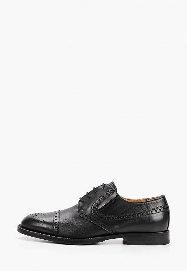 мужские туфли-дерби loriblu, черные