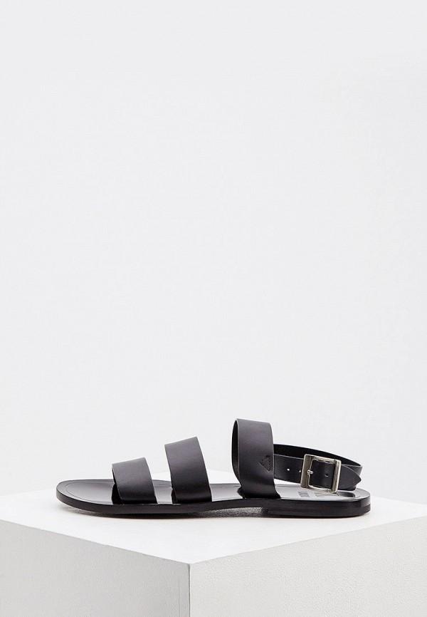 мужские сандалии loriblu, черные