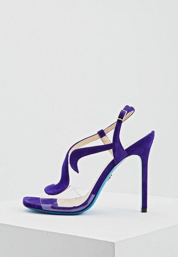женские босоножки loriblu, фиолетовые
