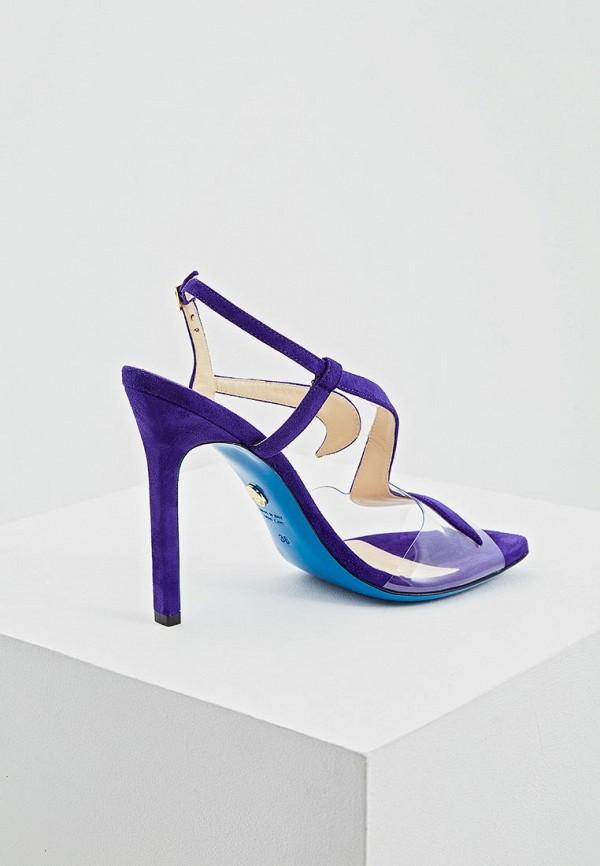 Фото 2 - женские босоножки Loriblu фиолетового цвета