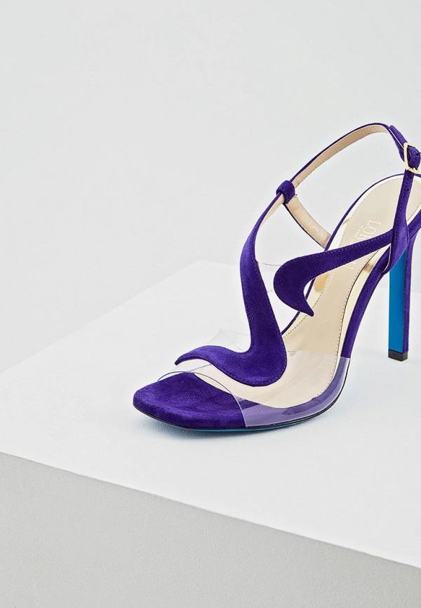 Фото 3 - женские босоножки Loriblu фиолетового цвета