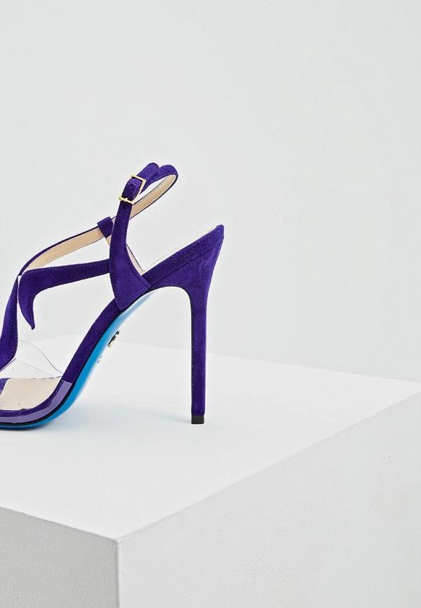 Фото 4 - женские босоножки Loriblu фиолетового цвета