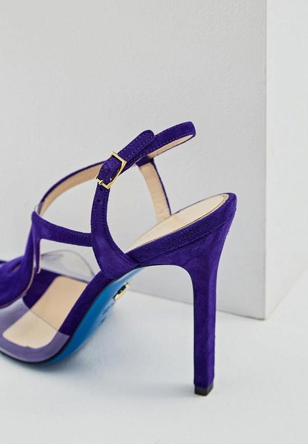 Фото 5 - женские босоножки Loriblu фиолетового цвета