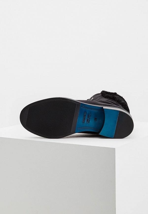 Фото 3 - Женские ботинки и полуботинки Loriblu черного цвета