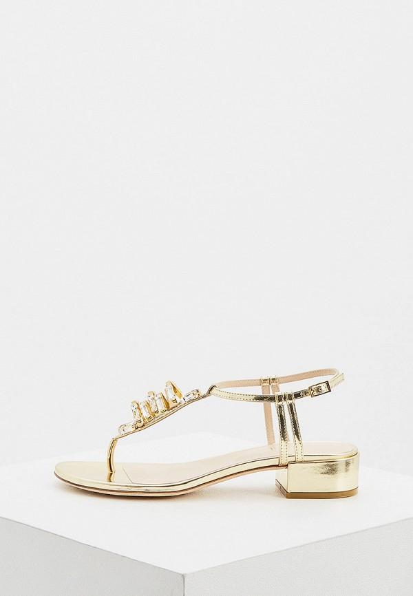 женские сандалии loriblu, золотые