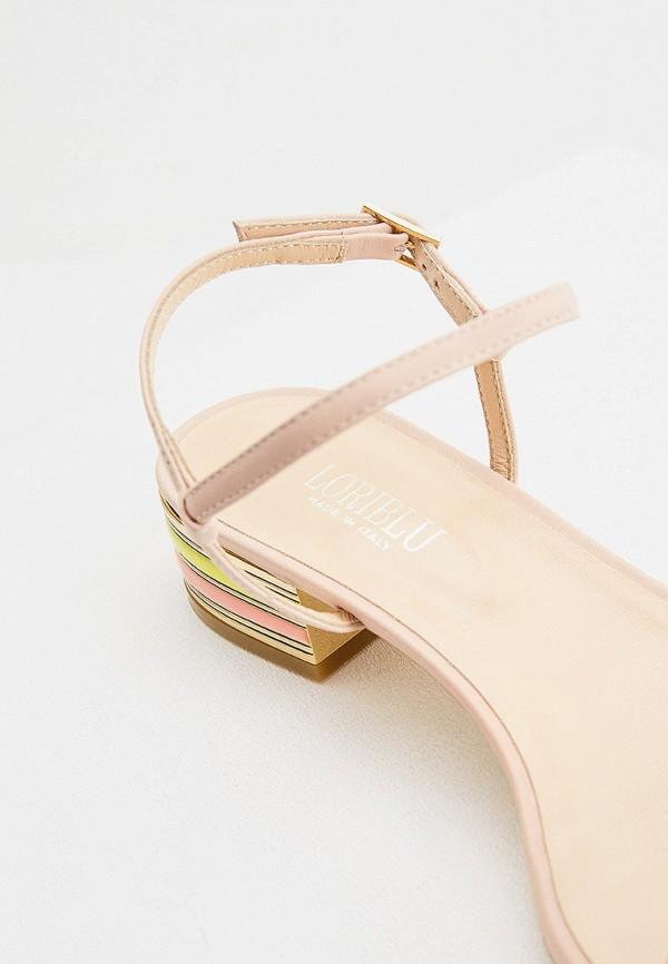 Фото 5 - Женские сандали Loriblu бежевого цвета