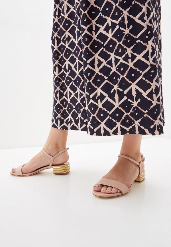 Фото 6 - Женские сандали Loriblu бежевого цвета