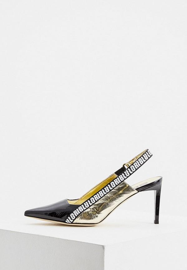 женские туфли loriblu, золотые