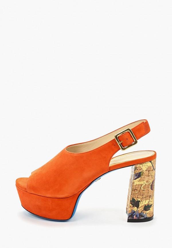 женские босоножки loriblu, оранжевые