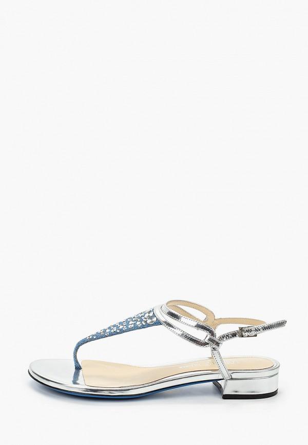 женские сандалии loriblu, синие