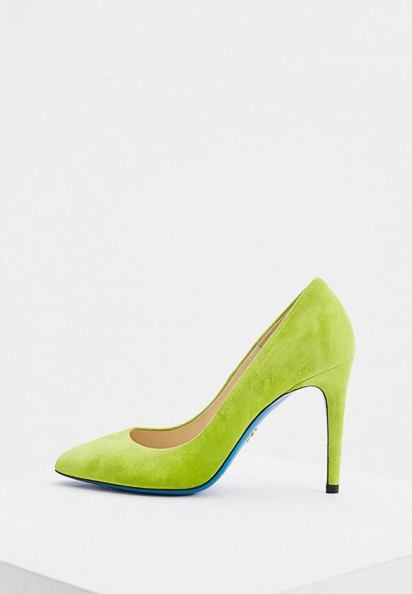 женские туфли-лодочки loriblu, зеленые