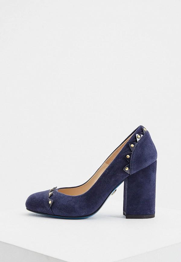 женские туфли с закрытым носом loriblu, синие