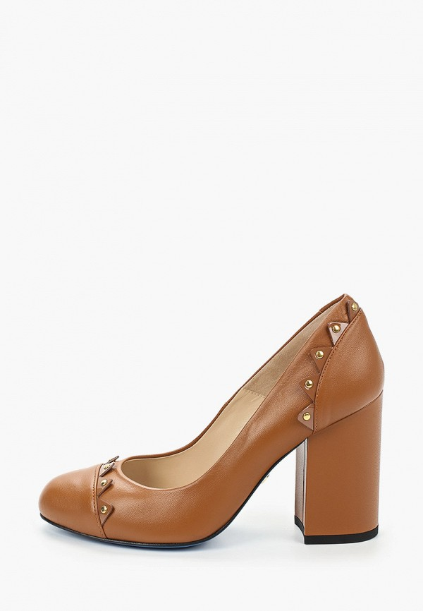 женские туфли с закрытым носом loriblu, коричневые