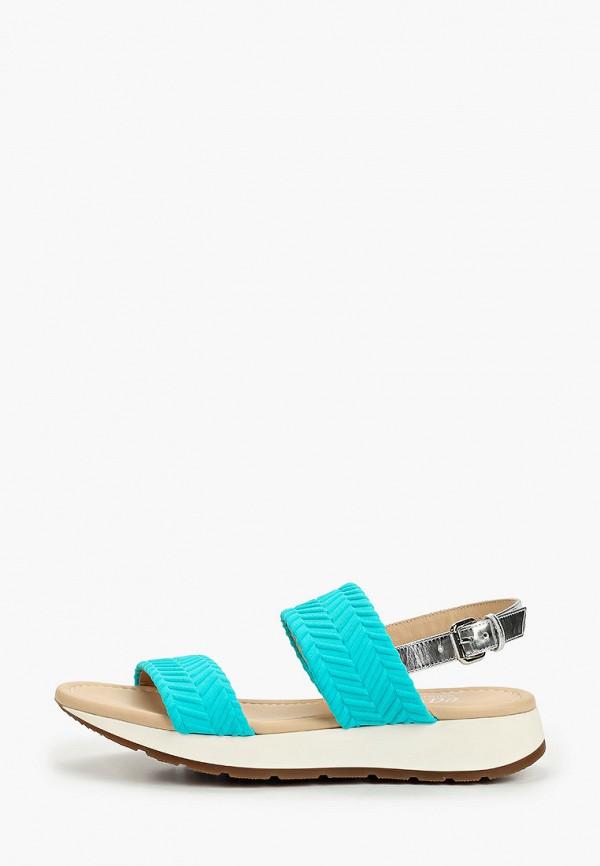 женские сандалии loriblu, бирюзовые