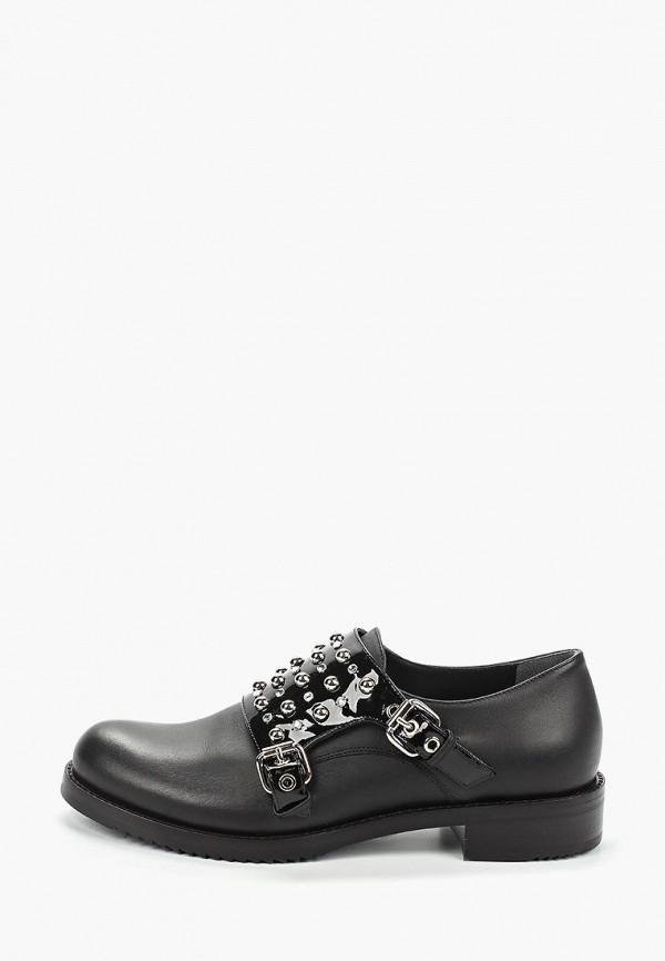 женские низкие ботинки loriblu, черные