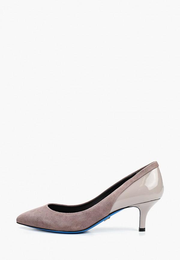 женские туфли-лодочки loriblu, серые
