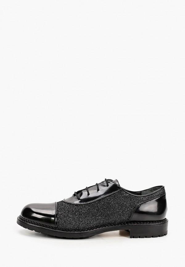 женские ботинки-оксфорды loriblu, черные