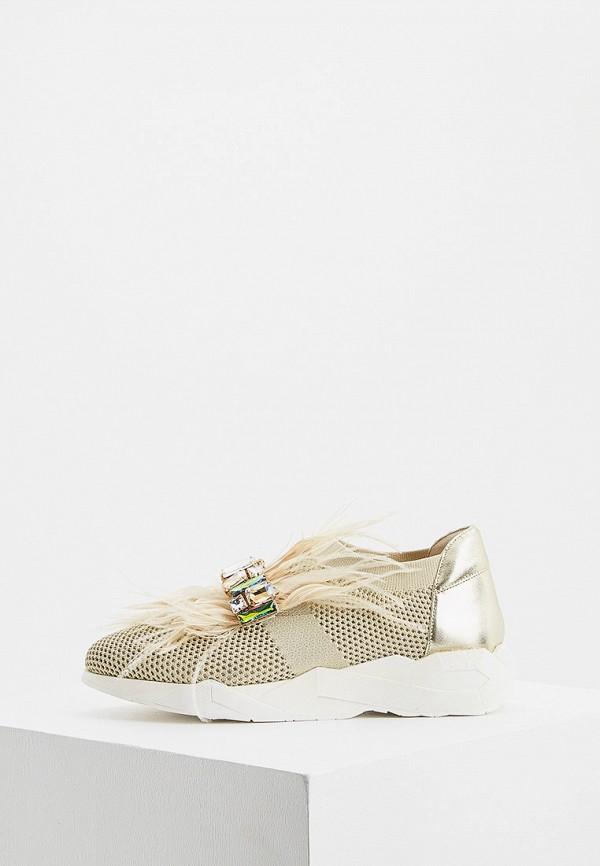 женские низкие кроссовки loriblu, бежевые