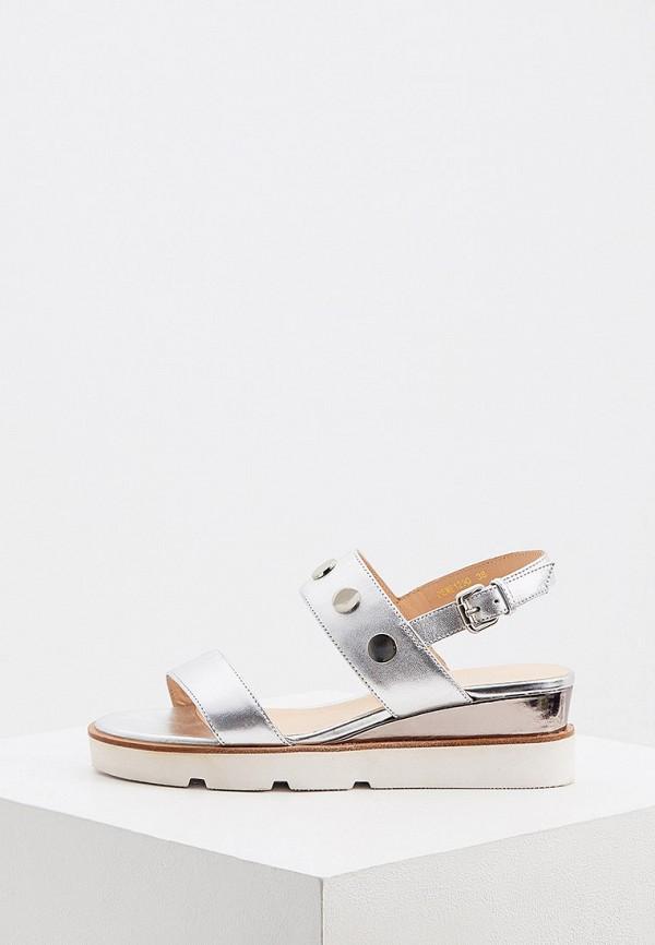 женские сандалии loriblu, серебряные