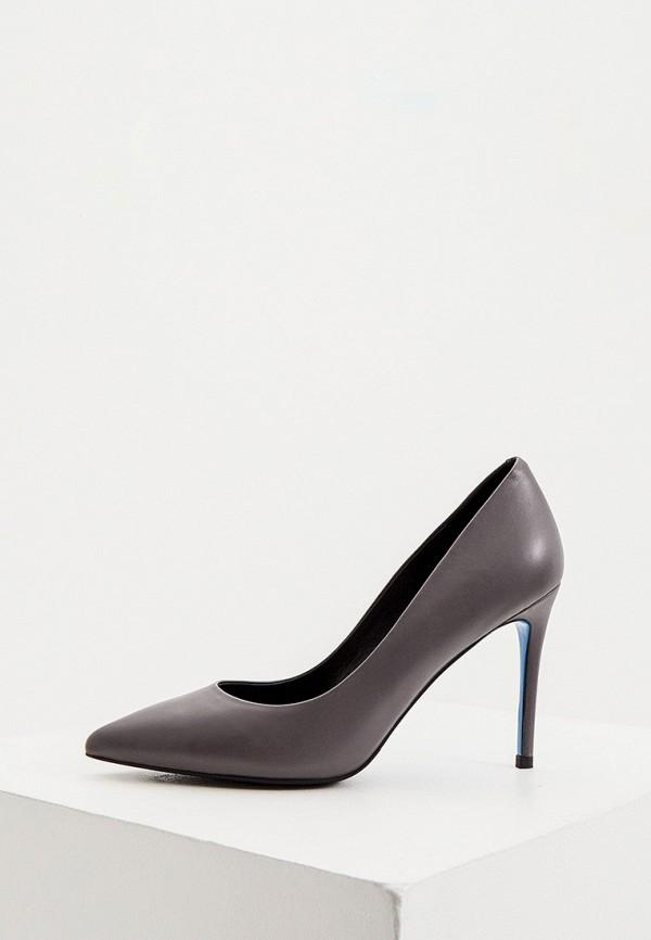 женские туфли loriblu, серые