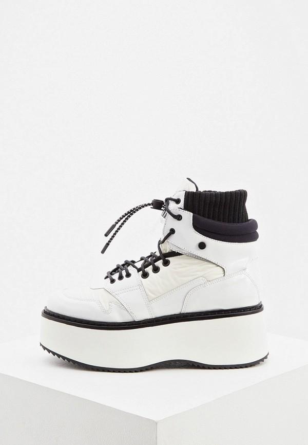 женские ботинки loriblu, белые