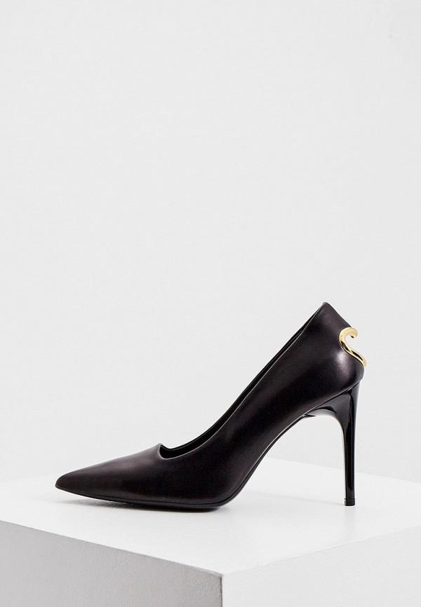женские туфли love moschino, черные