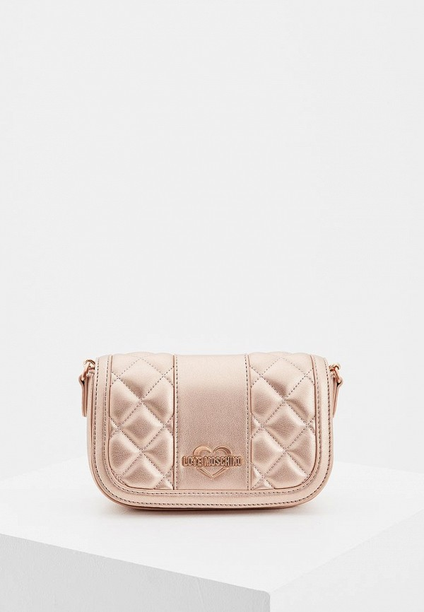 Купить Сумка Love Moschino, LO416BWBREW2, розовый, Осень-зима 2018/2019