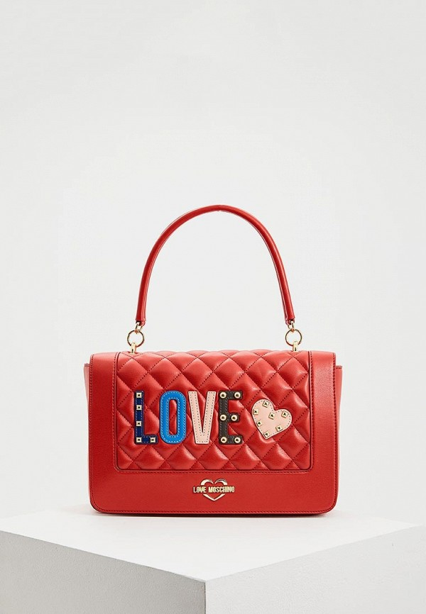 Сумка Love Moschino Love Moschino LO416BWBRGZ4 сумка love moschino love moschino lo416bwaevf2