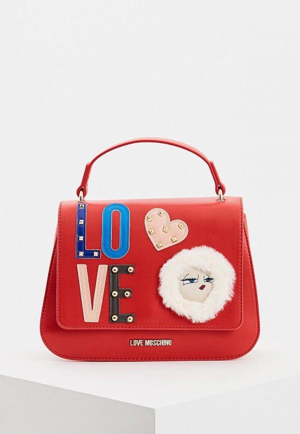 Сумка Love Moschino Love Moschino LO416BWBRHK6 сумка love moschino love moschino lo416bwbrew5