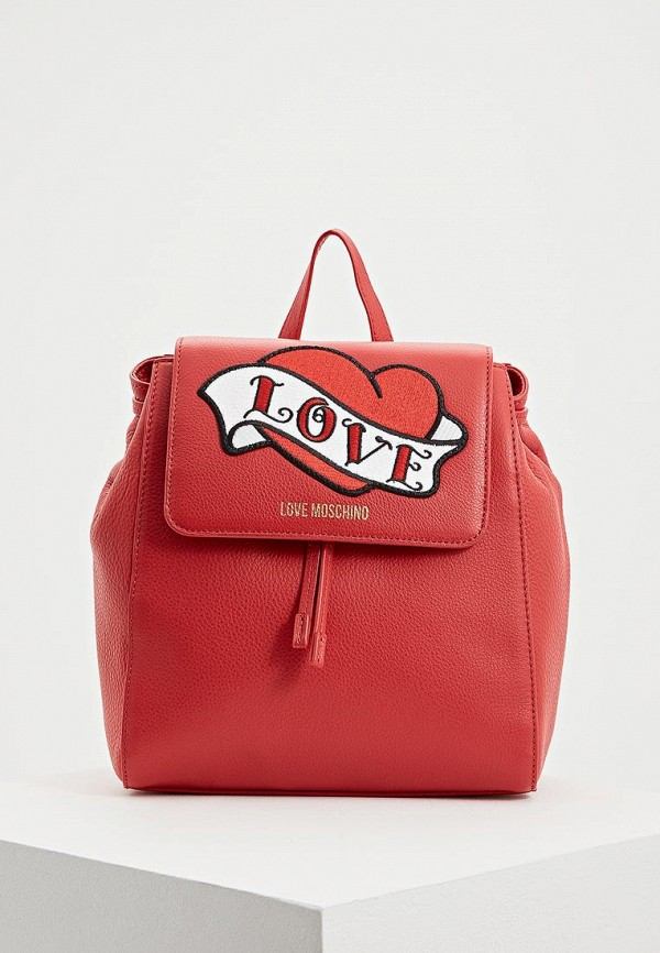 Рюкзак Love Moschino Love Moschino LO416BWBRHO5 рюкзак love moschino jc4336pp04ks0000